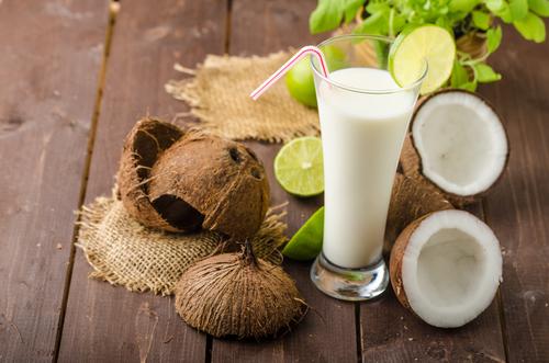 Receta de caipirinha de coco