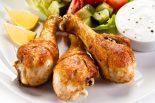 muslos de pollo al horno light