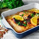 receta de pechuga de pollo al horno con naranja