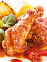 Receta de pollo al ajillo en salsa