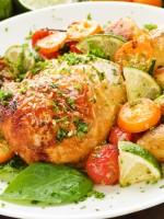 Receta de pollo al horno boliviano