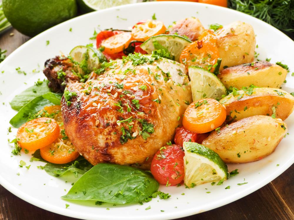 Receta de pollo al horno boliviano - Salsas para el pollo al horno ...