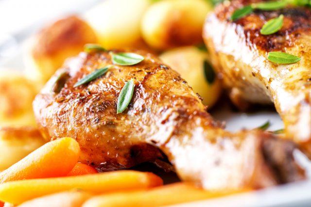 Receta de pollo al horno con cerveza