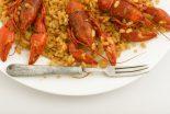 arroz con bogavante y calamares