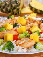 Receta de ensalada de arroz con carne