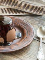 Receta de flan de huevo con chocolate