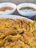 Receta de tortilla de kimchi