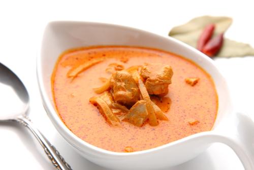 Receta de salsa curry con leche de coco