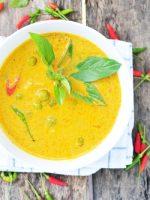 Receta de salsa curry sin nata