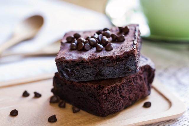 Receta de brownie de café