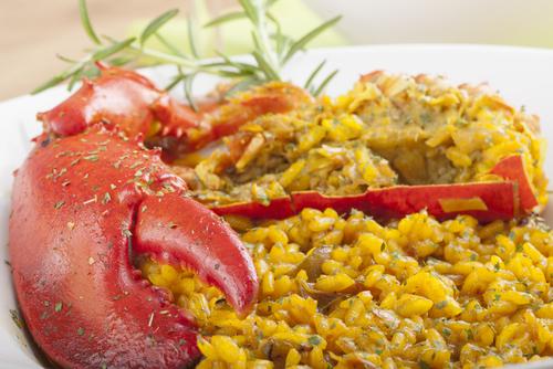 Receta de arroz con bogavante y ñoras