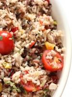 Ensalada césar de arroz