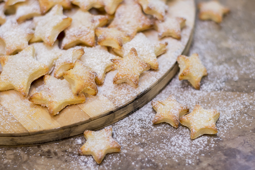 Receta de galletas decoradas con azúcar glass