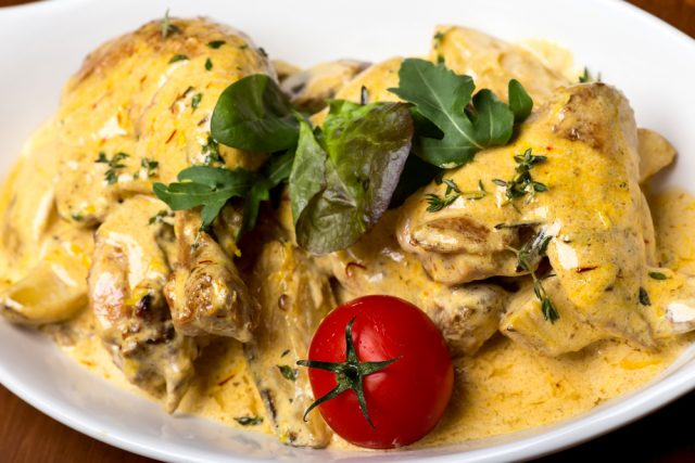 Receta De Muslos De Pollo Al Horno Con Curry Unarecetacom