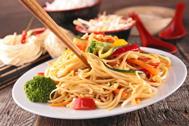 Receta de noodles thermomix