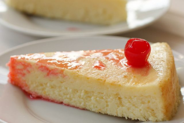 Receta de tarta de queso al microondas