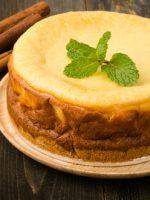 Receta de tarta de queso mascarpone