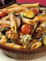 Receta de ratatouille con pasta