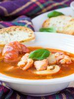 Receta de sopa de pescado andaluza