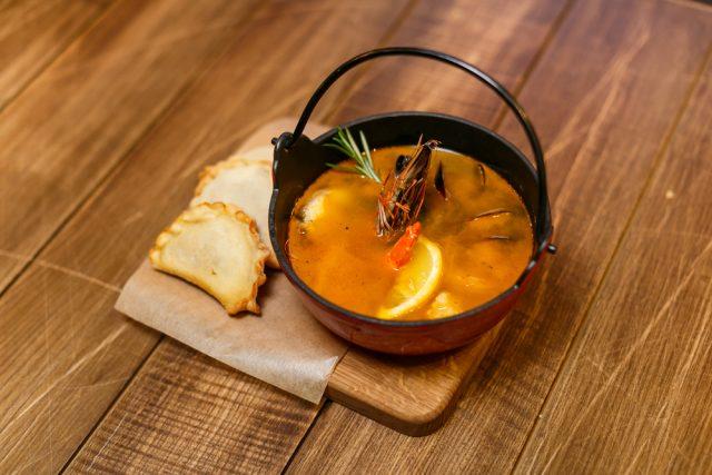 Receta de sopa de pescado mexicana