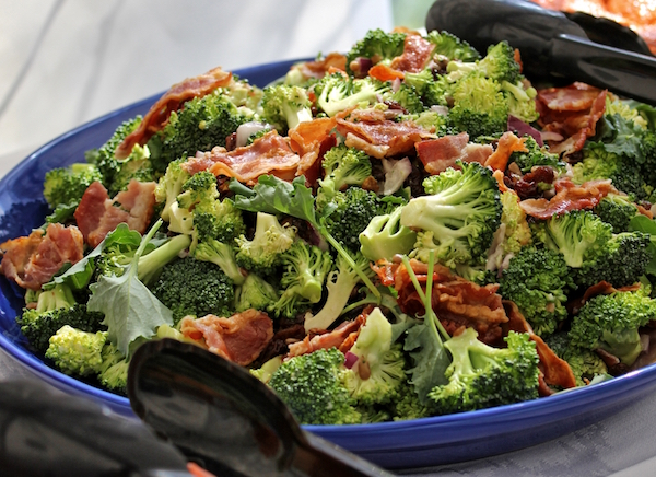 Receta de brócoli con bacon