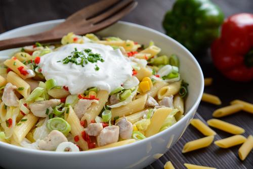 Receta de ensalada de pasta con mayonesa