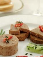 Receta de canapés de foie con manzana