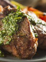 Receta de carne con salsa chimichurri