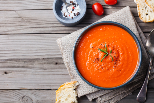 Receta de gazpacho de zanahoria