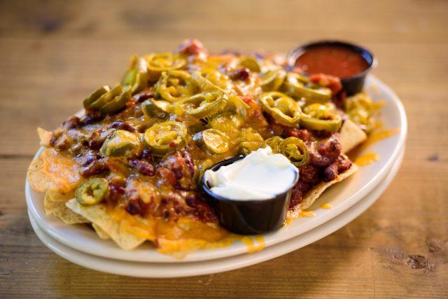 Receta de nachos americanos