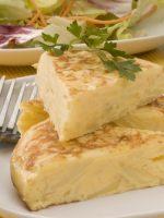 Receta de tortilla de patatas microondas