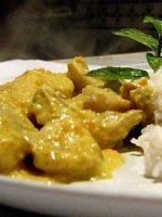 Receta de alitas de pollo al horno con curry