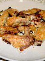 Receta de alitas de pollo al horno con limón