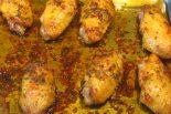 Receta de alitas de pollo al horno dukan
