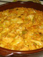 Receta de arroz al horno con bacalao