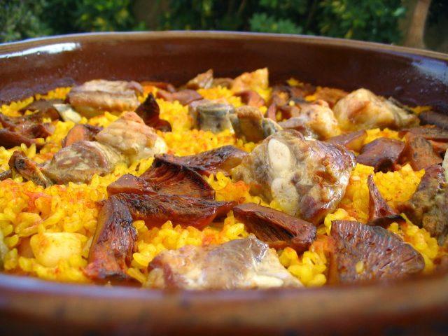Receta de arroz al horno con costillas