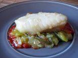 Receta de bacalao con tomate y mayonesa
