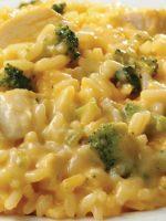 Receta de brócoli con arroz