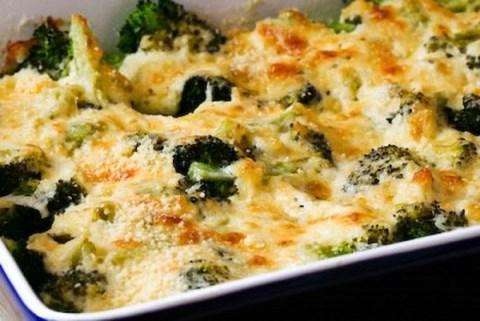 Receta de Brocoli con queso