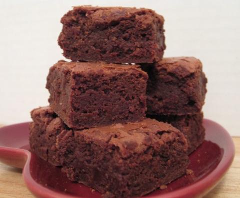 Receta de brownie light