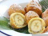Receta de buñuelos de banana