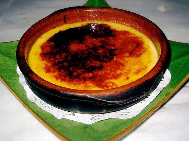 Receta de crema catalana vegana