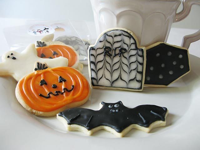 Receta de galletas decoradas de halloween