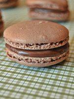 Receta de macarons rellenos de nutella