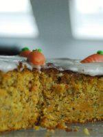 Receta de pastel de zanahoria alemán