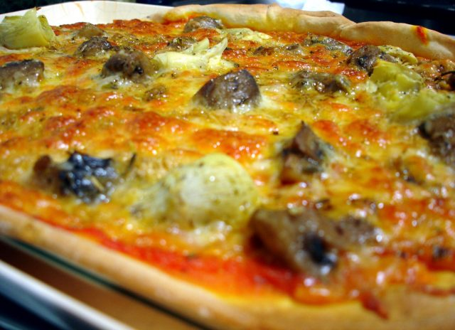 Receta de pizza thermomix