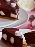 Tarta fondant con chocolate