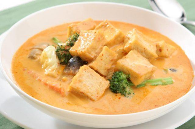 Receta de salsa curry con champiñones