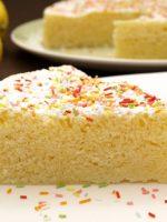 Receta de tarta de limón al microondas