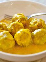 Receta de albóndigas al curry